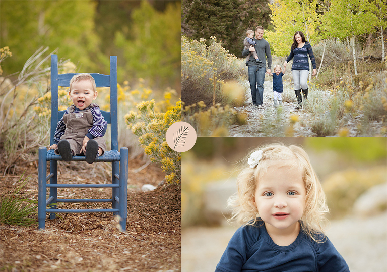 Mt charleston family of 4 portraits las vegas family photographer