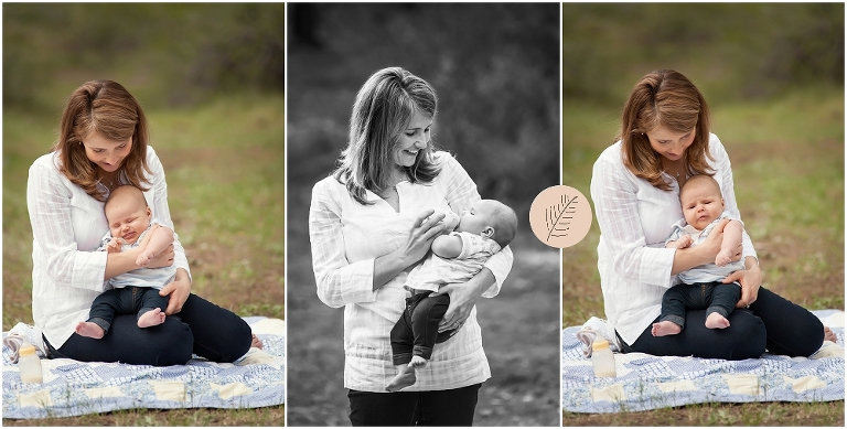 Mt. Charleston Family & Baby Portrait Session