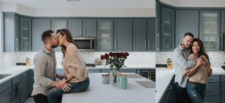 In Home Lifestyle Couples Portraits