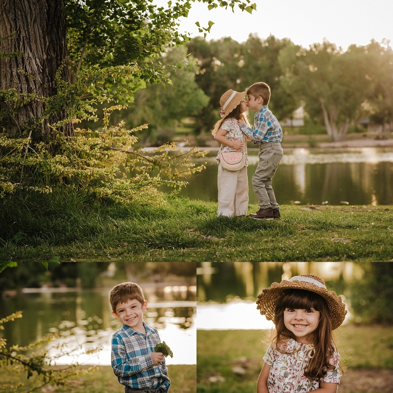 Child Portraits at Floyd Lamb Park