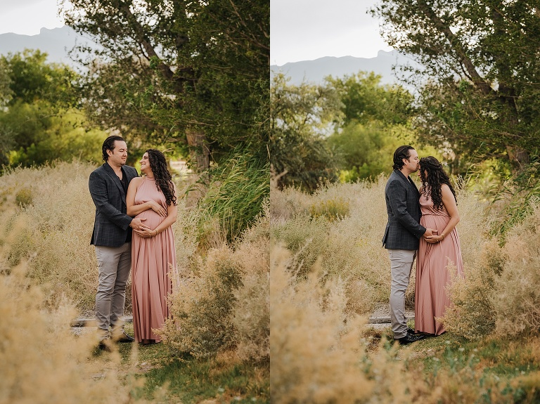 Beautiful Boho Maternity Portraits